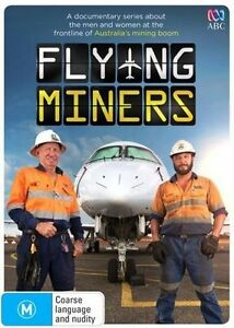 The Flying Miners (DVD, 2014) (D166 D177)