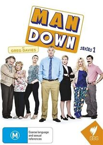 Man-Down-Series-1-RIK-MAYALL-GREG-DAVIES-GENUINE-REGION-4-DVD-NEW-SEALED-RARE