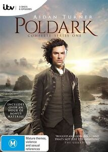 Poldark (DVD, 2015, 3-Disc Set) New and Sealed