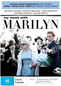 My Week With Marilyn NEW R4 DVD