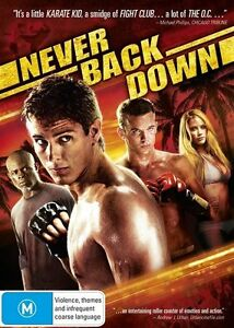 Never Back Down (2008) Amber Heard - NEW DVD - Region 4