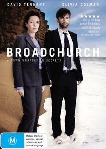 NEW Broadchurch Season 1 (DVD, 2013, 3-Disc Set)REGION 4