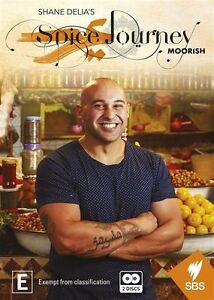 Shane Delia's Moorish Spice Journey (DVD, 2015, 2-Disc Set) brand new sealed