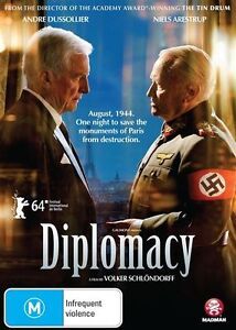 Diplomacy NEW R4 DVD