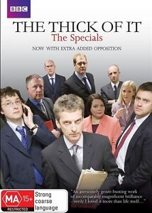 The Thick Of It - The Specials ..REG 4...NEW & SEALED   dvd473