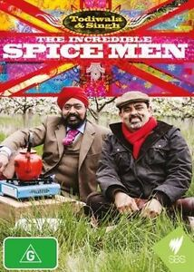 The Incredible Spice Men (DVD, 2014) New & Sealed + FREE POSTAGE