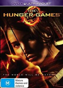 The Hunger Games (DVD, 2013) NEW R4