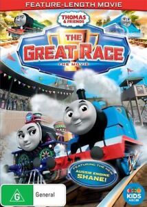 Thomas & Friends : The GREAT RACE : NEW DVD