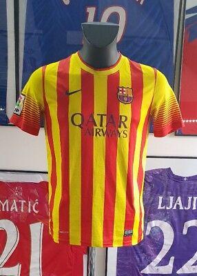 ce6d62c1b Maillot jersey shirt camiseta barcelona barcelone 2013 2014 13 14 messi  neymar S