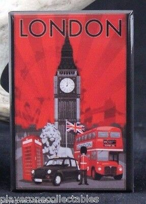 London Vintage Travel Poster 2