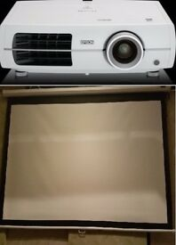 Home Cinema | Epson EH-TW3200 3LCD Projector&Celexon screen Manual Economy 180 x 102 cm|| £350 & £50