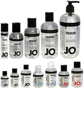 - System Jo Premium/Anal Silicone Lubricant Personal Lube All Sizes & Types