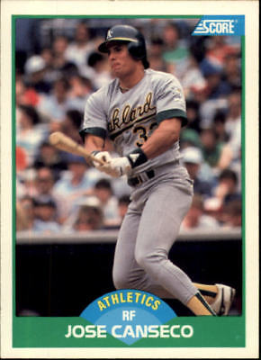 1989 Score Baseball Cards 1 220  Rookies   You Pick   Buy 10  Cards Free Ship