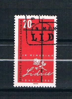DDR Mi.nr. 891,20. Jahrestag der Zerstörung von Lidice (Mittelböhmen),gestempelt