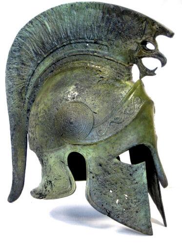 Alexander the Great Ancient Macedonian Bronze Helmet Greek Replica Reproduction