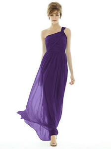 Brand New Alfred Sung Bridesmaids Chiffon Dress