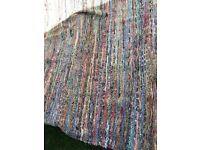 Vintage gypsy boho bohemian rug
