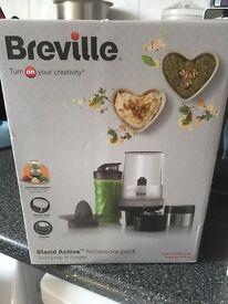 Breville Blend Active chopper / smoothie maker / grinder / whipper / food processor / juicer