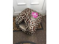 Brand new with tags soft cat / small dog bed