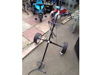 golf trolley good condition only £5.00