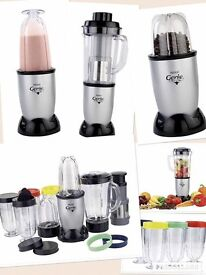Food blender with many cups / just like nutri bullet