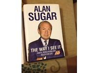 Alan Sugar - The way i see it.