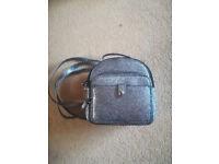 Accessories silver rucksack