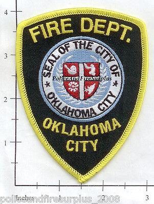 Oklahoma - Oklahoma City OK Fire Dept Patch