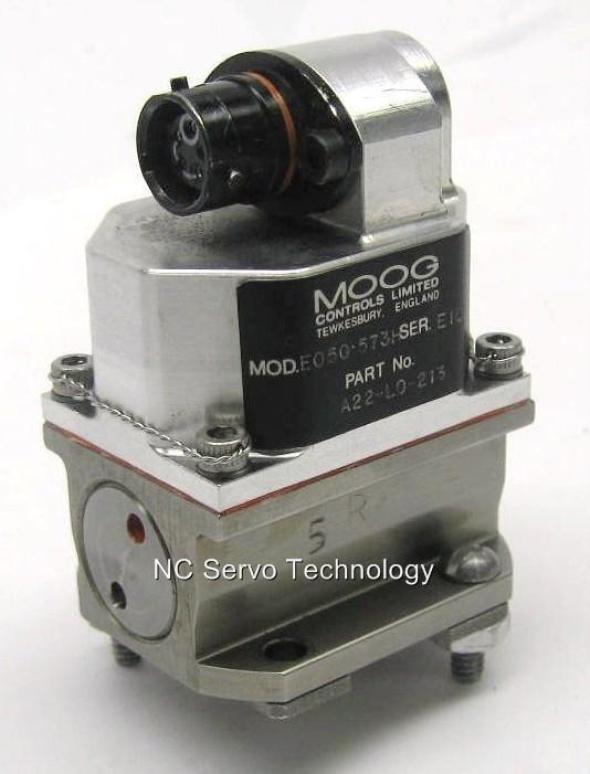 Moog E050-573h Servo Valve A22-l0-213 1 Yr Warranty