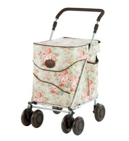 Sholley shopping trolley mobility aid as new condition limited edition