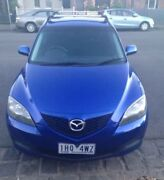 2008 Mazda 3 Neo BK Series 2 Manual Clifton Hill Yarra Area Preview