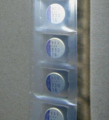 25-sanyo Aluminum Polymer Capacitors-94svp337x0016f12- 330uf 16v 20