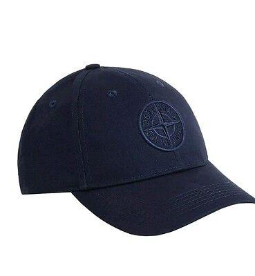 BRAND NEW blue stone Island baseball cap .