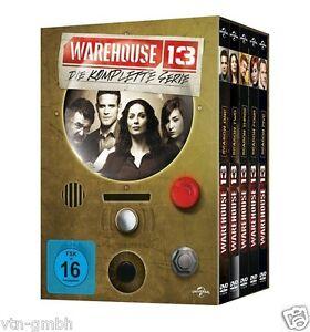 DVD * Warehouse 13 - Die komplette Serie * + Bonus 16 DVDs NEU / OVP X51-E4600