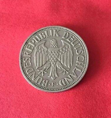 1 DM 1956 F in Kapsel Deutsche Mark BRD