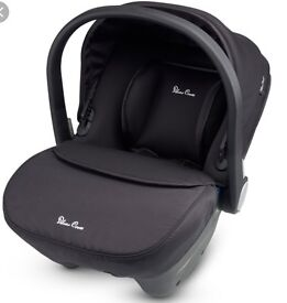 Brand New unused Silver Cross Simplicity Car seat with tags in box. Suitable from birth.