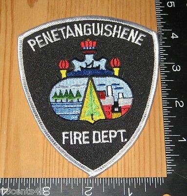 Penetanguishene Ontario Canada Fire Department International Cloth Patch Only