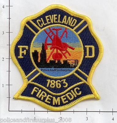 Ohio - Cleveland Fire Medic OH Fire Dept Patch