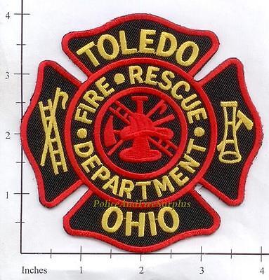 Ohio - Toledo OH Fire Dept Patch Fire Rescue