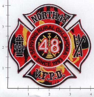 Oklahoma - North 48 OK Volunteer Fire Dept Patch