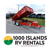Dump Trailer Rental *Starting at $145*