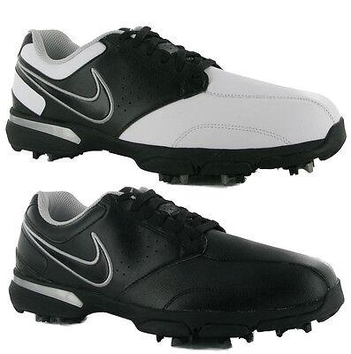 Nike Hombre Cuero Zapatos de Golf Vintage Talla 44 45 Golf Zapatos Nuevo