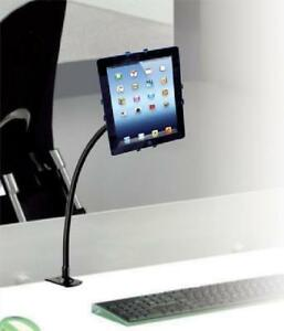 CTA Digital Adjustable Gooseneck Clamp Mount for Tablets - PAD-GCM