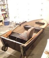 Very light 12' fishing boat
