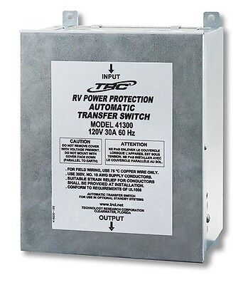 Surge Guard 41300 30 Amp 120v Basic Automatic Transfer Switch