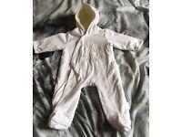 Unisex 3-6 months snow suit