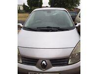 7 Seater Renault scenic
