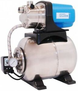 Hauswasserwerk HWW 1000 P Inox Güde 1000 W