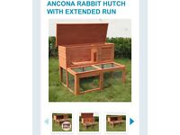 Brand new rabbit hutch only used for 1 night
