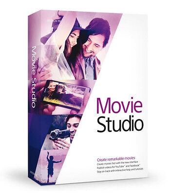 Sony Vega Movie Studio 13. Pro Video Editing Creating Recording Software Full